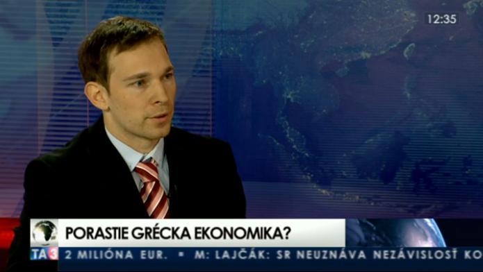 Martin Vlachynský o ekonomickej situácii v Grécku