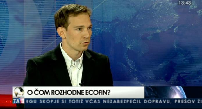 HOSŤ V ŠTÚDIU: Martin Vlachynský o rokovaní Ecofinu