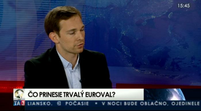 HOSŤ V ŠTÚDIU: Martin Vlachynský o trvalom eurovale