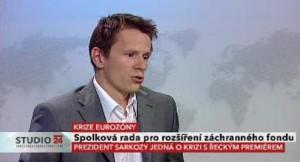 Rozšíření záchranného fondu eurozóny - po Německu pro i Rakousko (ČT24, 30.9.2011)