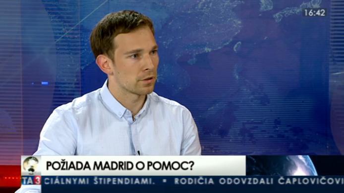 HOSŤ V ŠTÚDIU: Martin Vlachynský o ekonomickej situácii Španielska