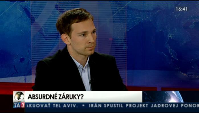 HOSŤ V ŠTÚDIU: Martin Vlachynský o zárukách Slovenska